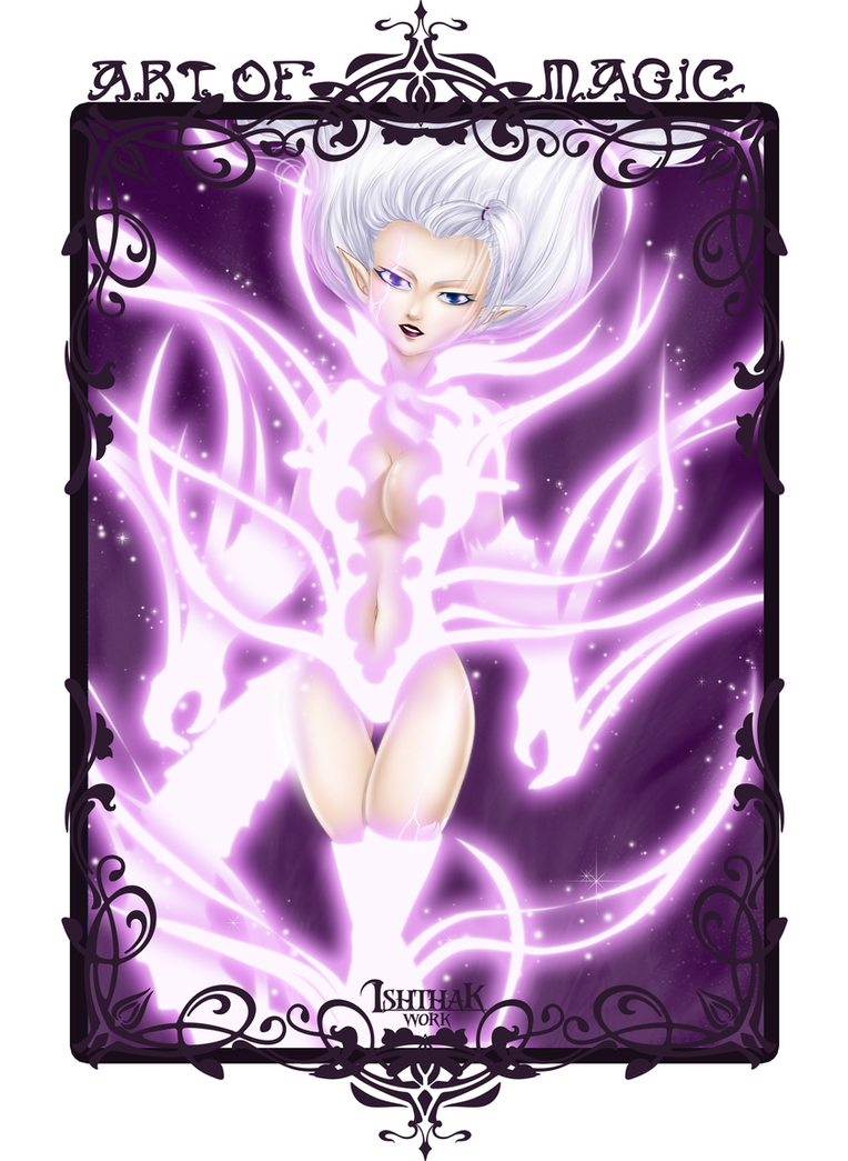 Art of Magic - Soulcollector Mirajane by Ishthak