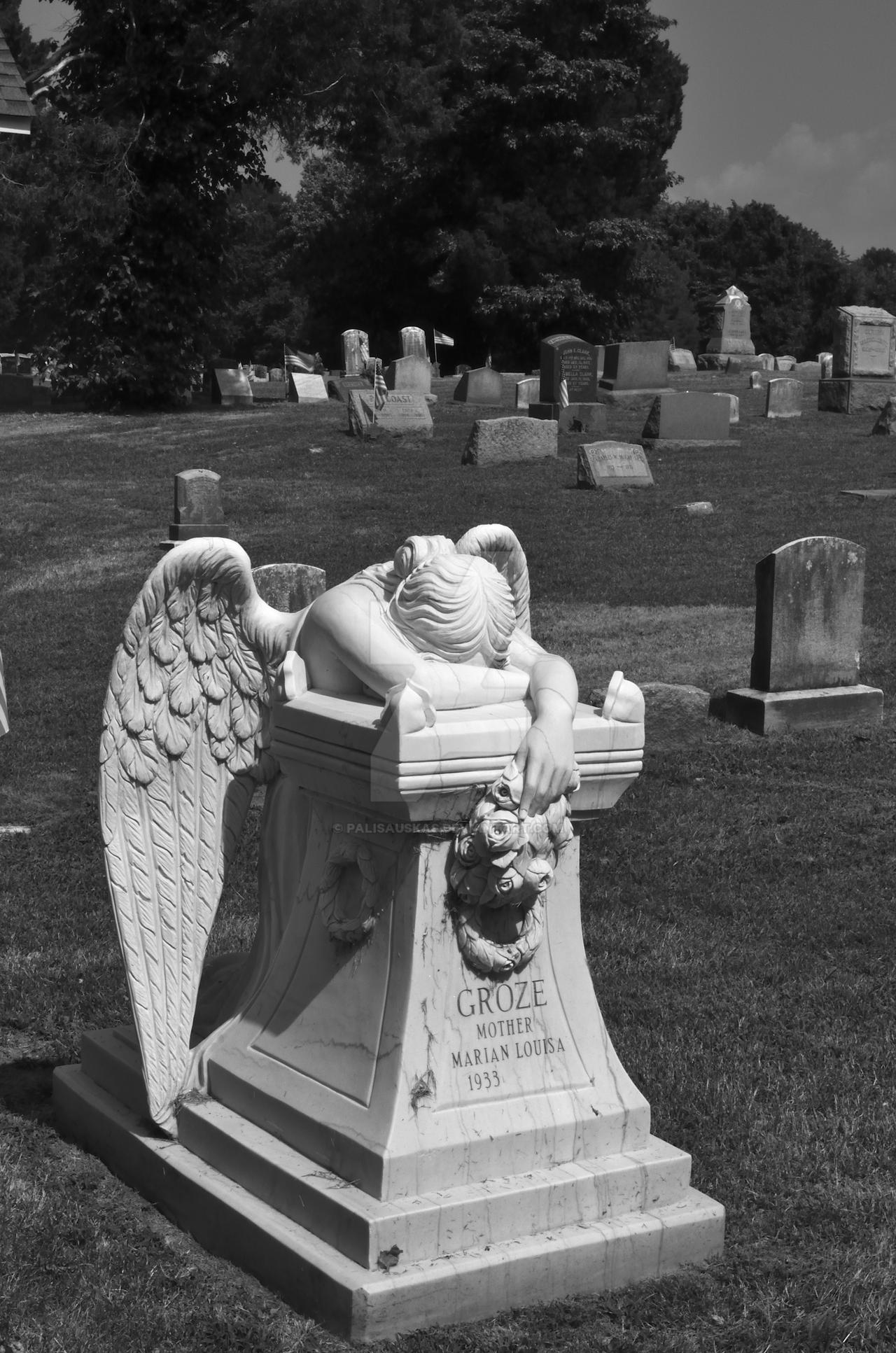 weeping angel statue by palisauskas on deviantart