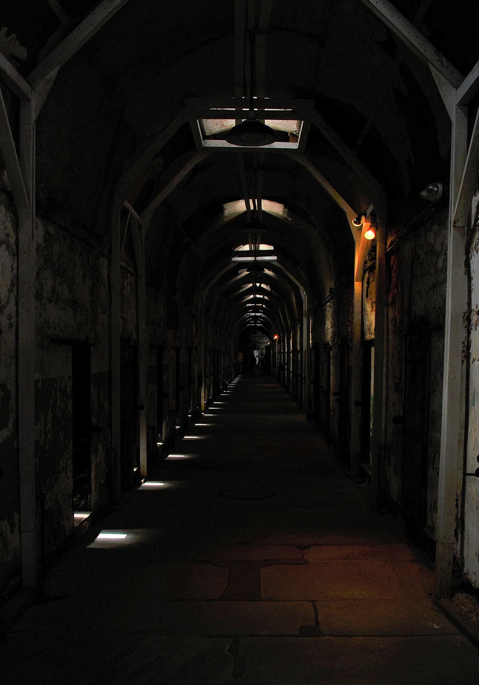 Dark Prison Hallway by PAlisauskas