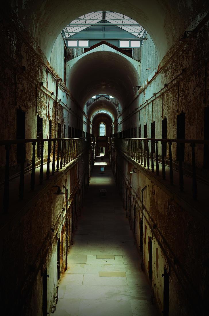 Eastern State Penn hallway by PAlisauskas
