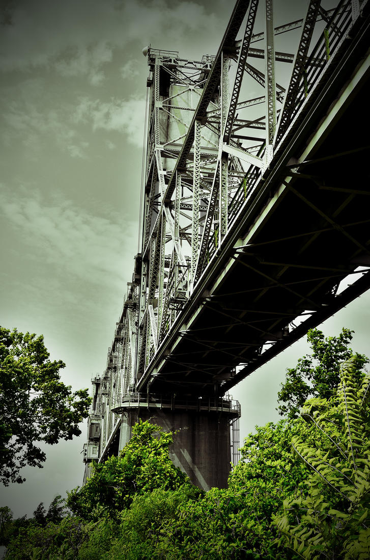Burlington Bristol Bridge HDR Edit by PAlisauskas
