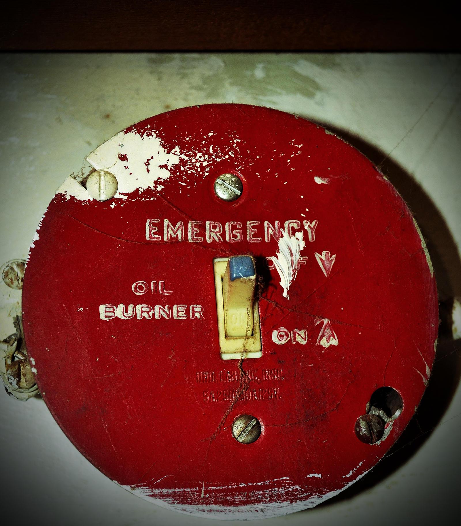 Oil Burner Emergency Switch by PAlisauskas