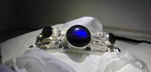 Jewelry: Bracelet 002, 'Worlds Tree'