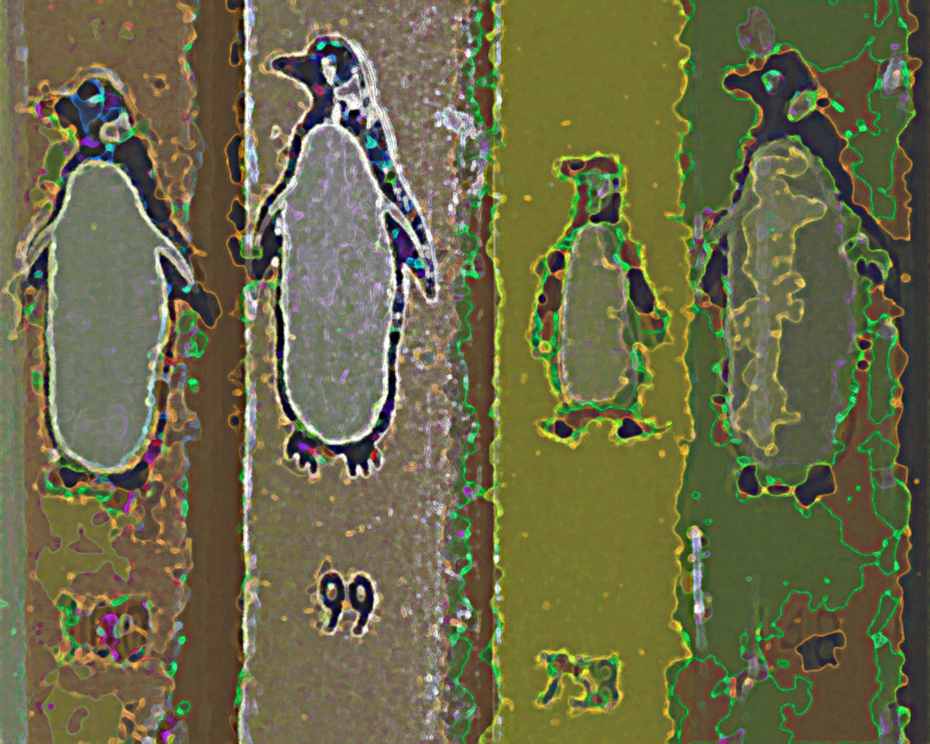 penguins by ChaelMontgomery