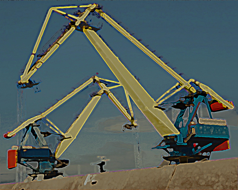cranes by ChaelMontgomery