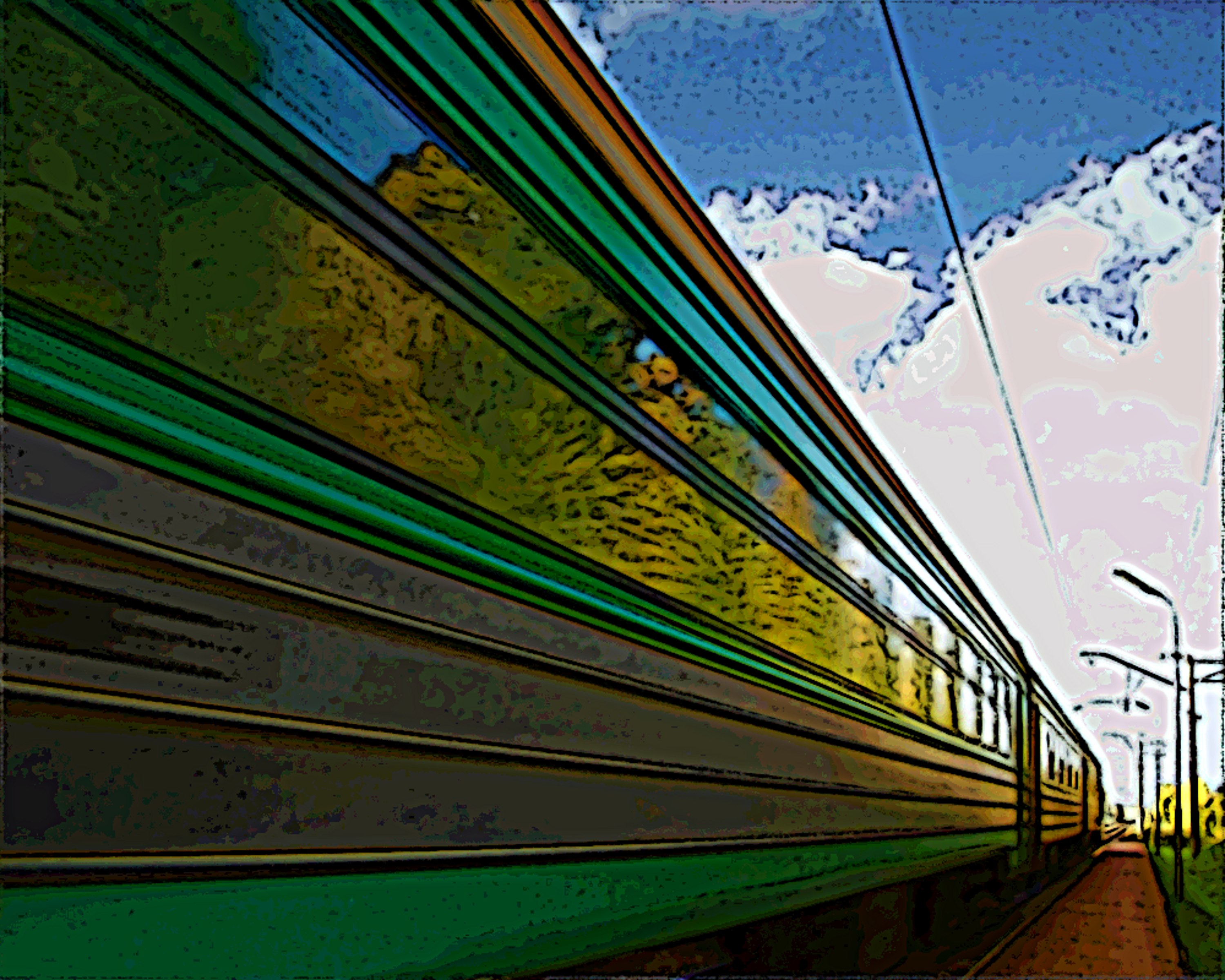 train by ChaelMontgomery