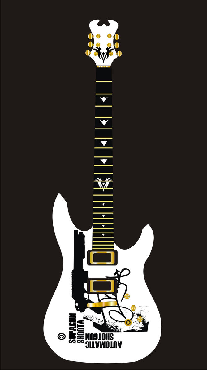 Guitar Designs Art : First guitar design by rheo on deviantart
