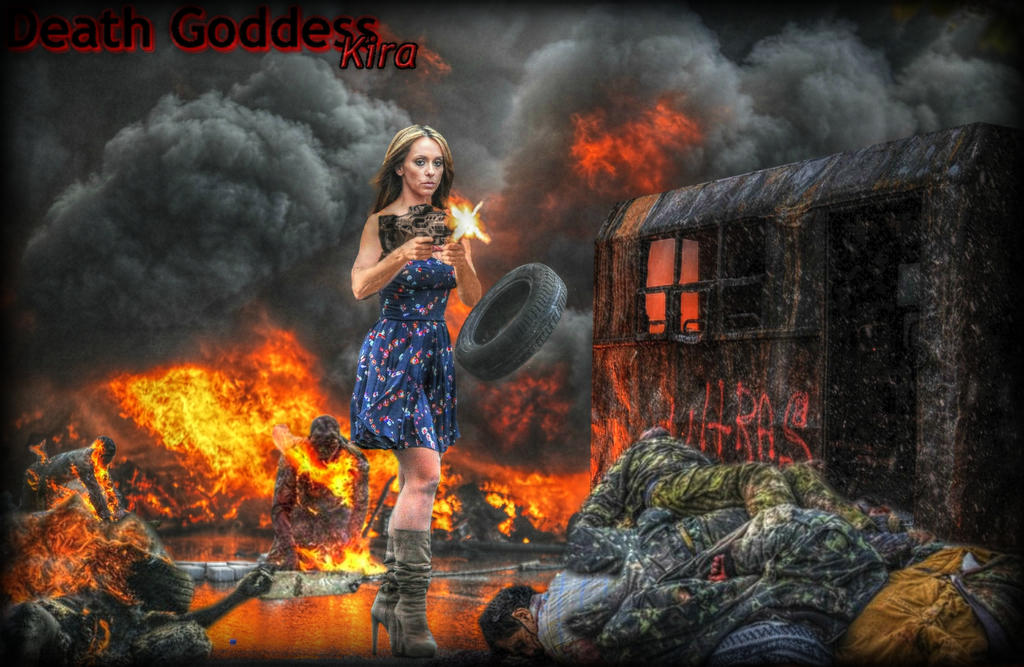 Death Goddess Kira by NNS1921