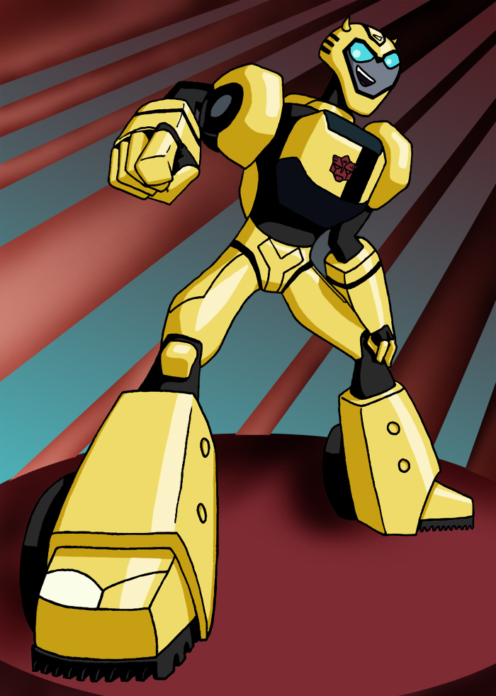 Bumblebee Transformers Animated Transformers Anmt Bumblebee