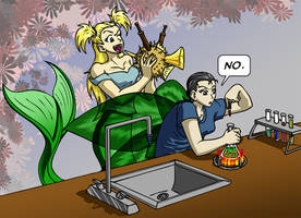AMR: Blowfish Distraction by mystryl-shada