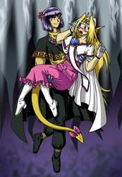 Slayers: Xellos n Filia by mystryl-shada