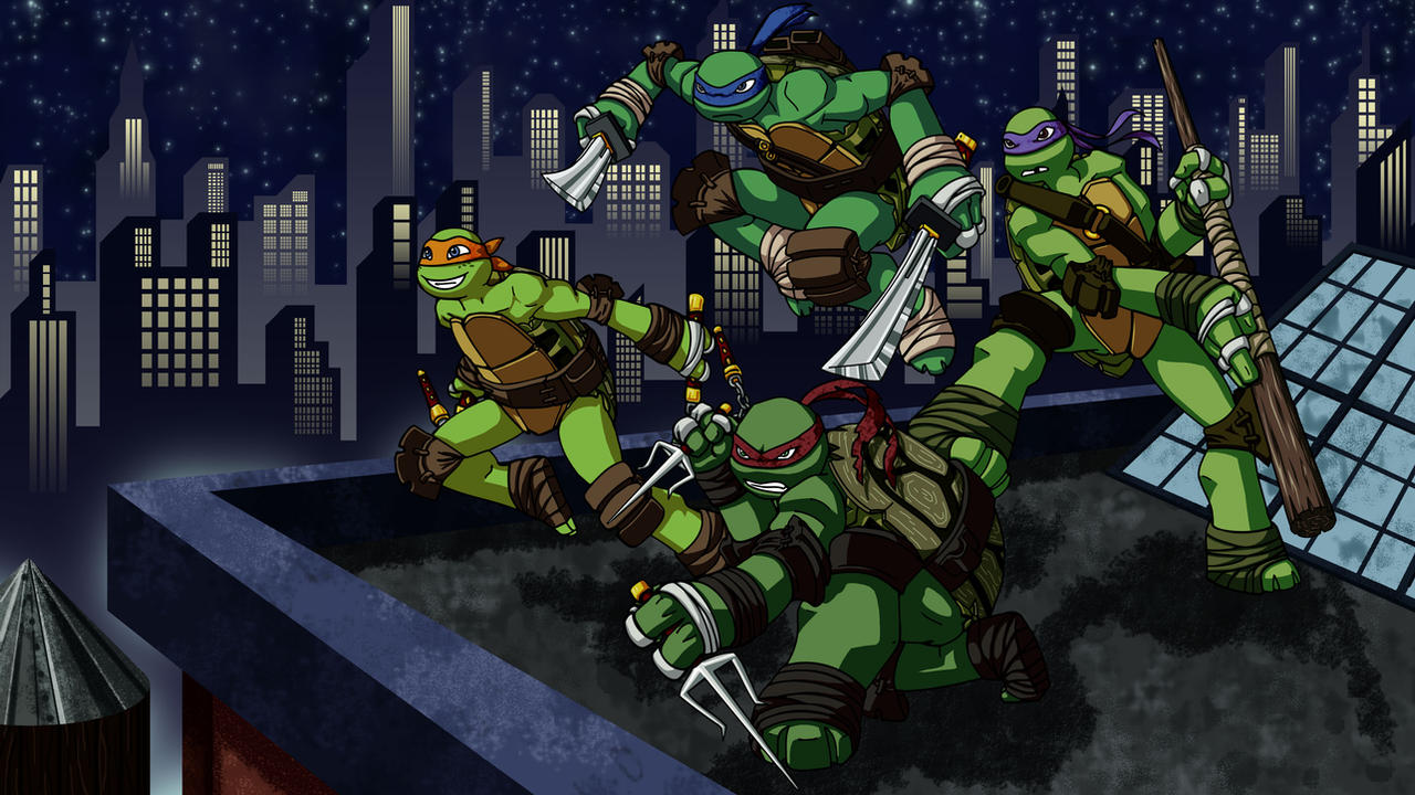Nicks Teenage Mutant Ninja Turtles Favourites By MKR 3 On DeviantArt