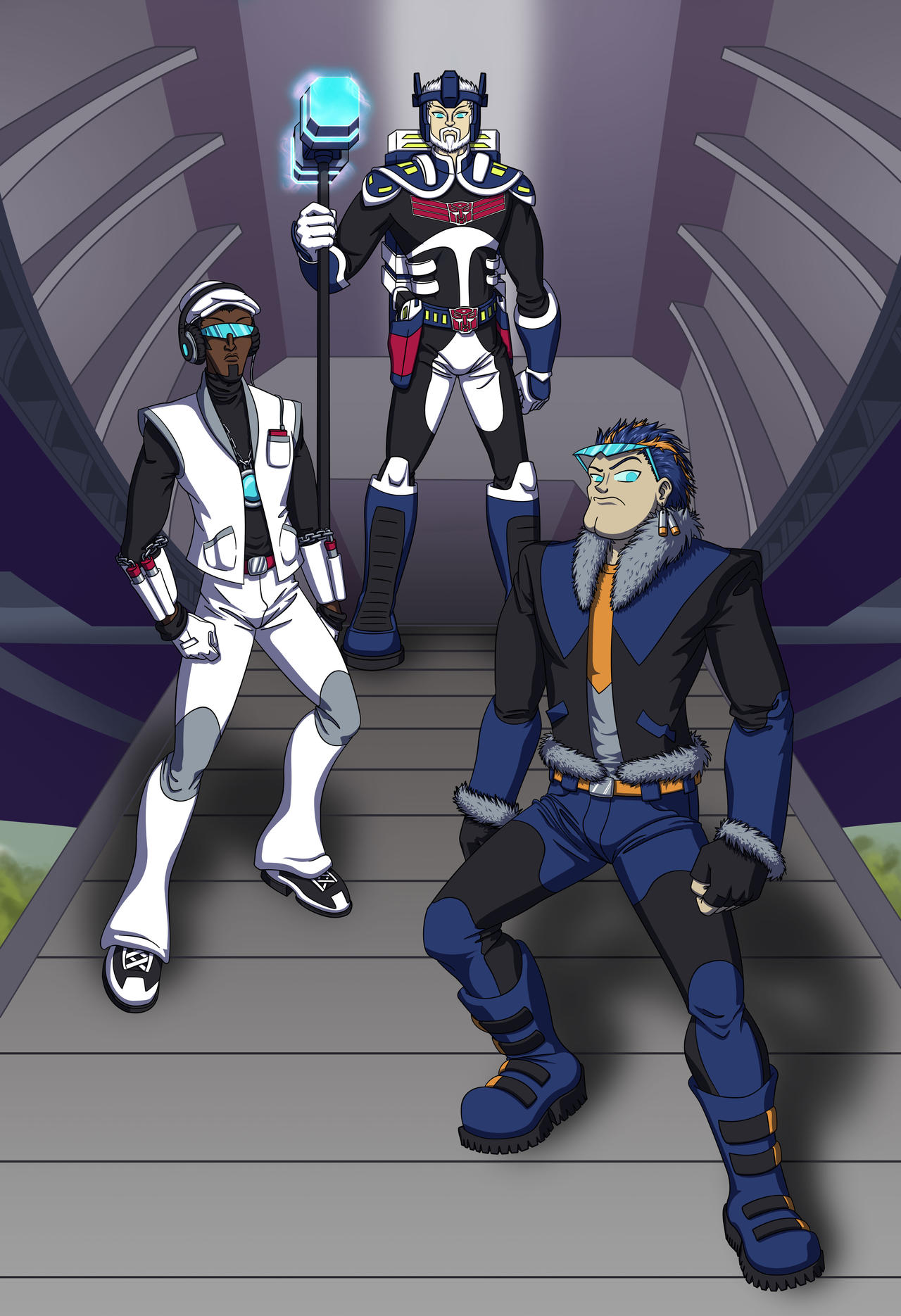 Transformers Animated By Mystryl-shada On DeviantArt