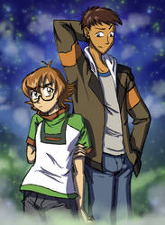 Voltron LD: Pidge and Lance