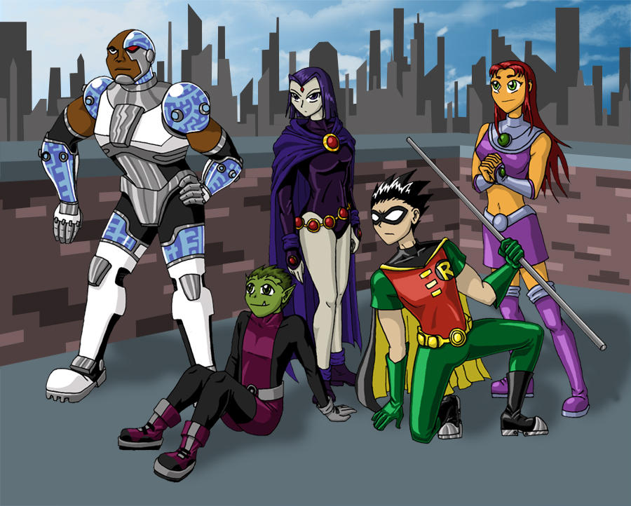 Teen Titans by mystryl-shada