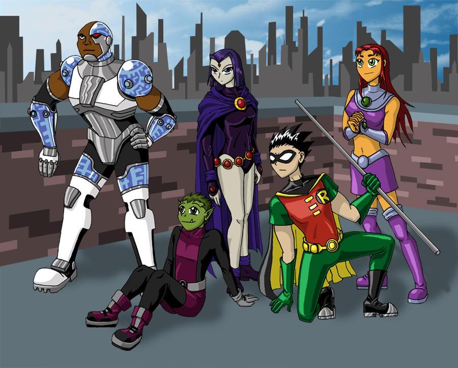 Teen Titans by mystryl-shada
