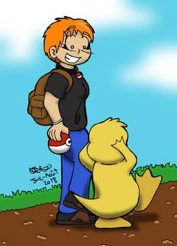 Anita the pokemon trainer