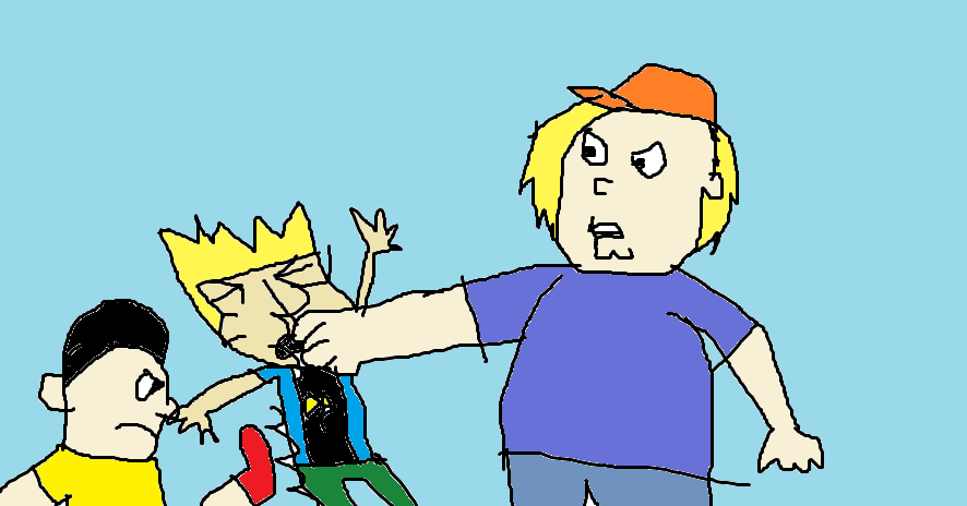 Chris And Gene Beat Up Johnny Test By Mippytrippy On