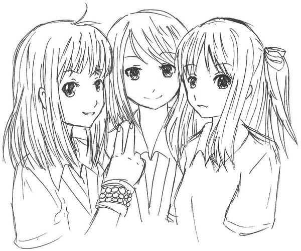 Kamer 6841. Miyoko & Iris Friends_by_sighlol