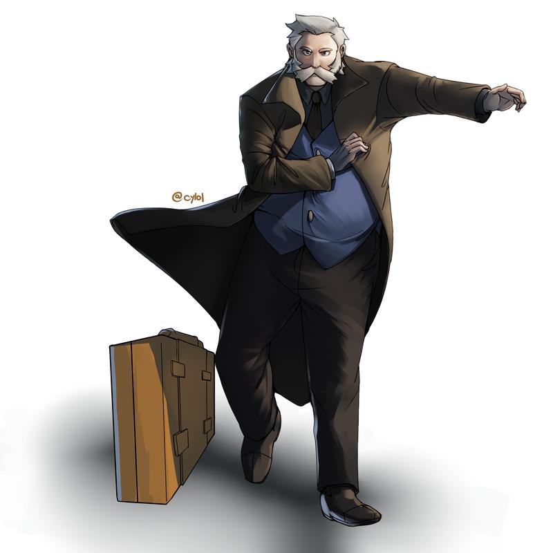 Prof Rowan by sighlol