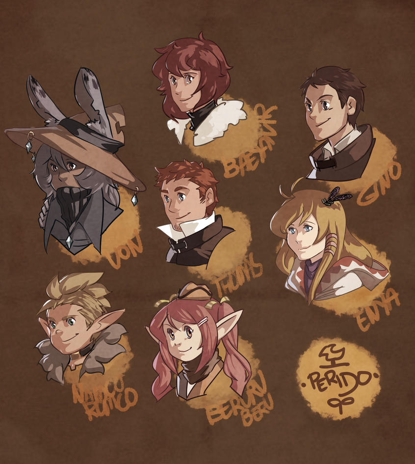CT - Perido People Heads by sighlol