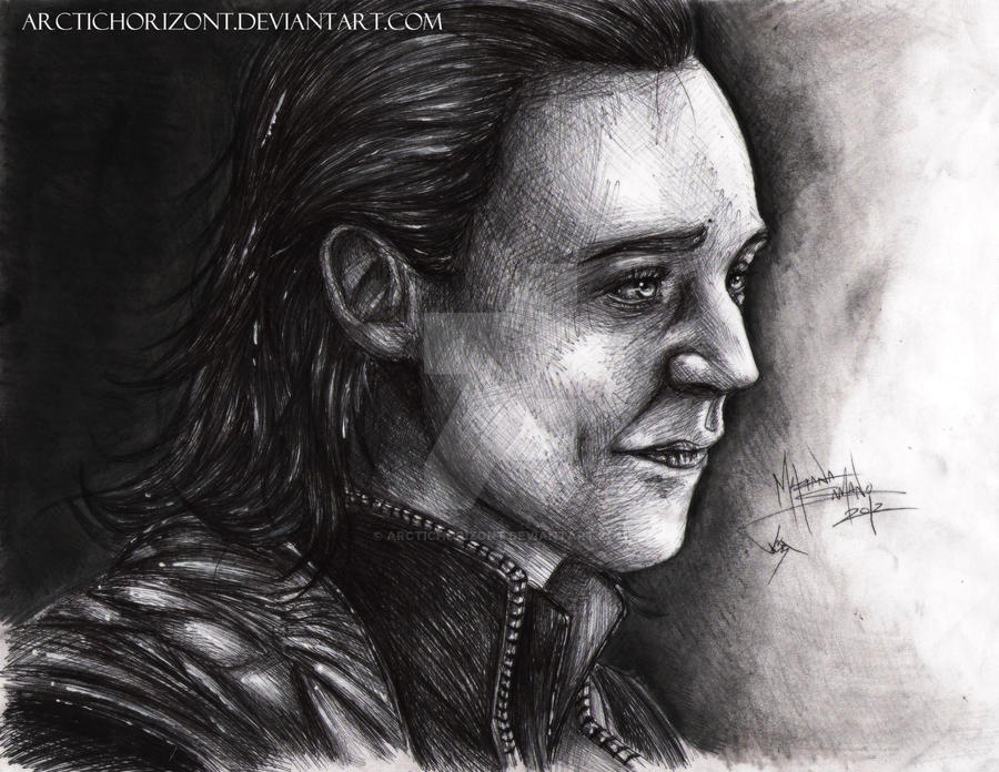 In my darkest hour-Loki by ArcticHorizont