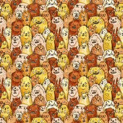 Repeating Dogs by philippajudith