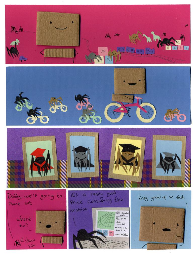 Spiders by philippajudith