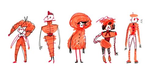 orange outfits by philippajudith