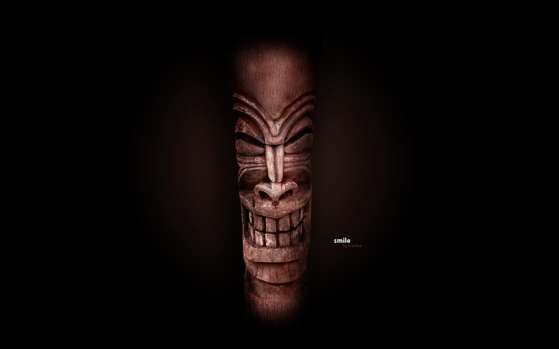 Tiki God By Fractma