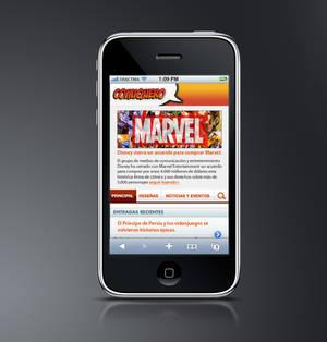 Comiquero iPhone Web App