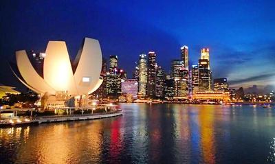 Marina Bay Sands Lotus by tabbie