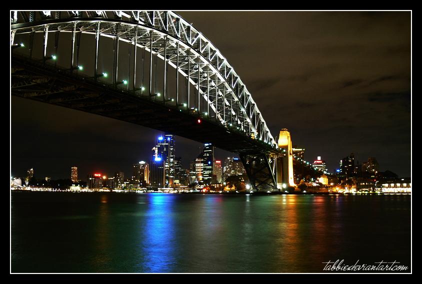 Harbour Bridge by tabbie