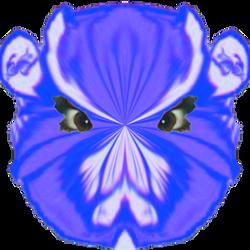 Blue Monkey by watkig2
