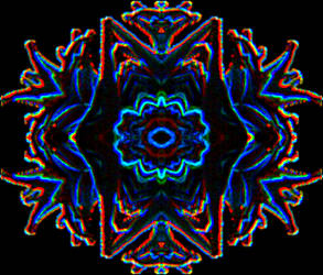 Abstract Sea Anemone 4