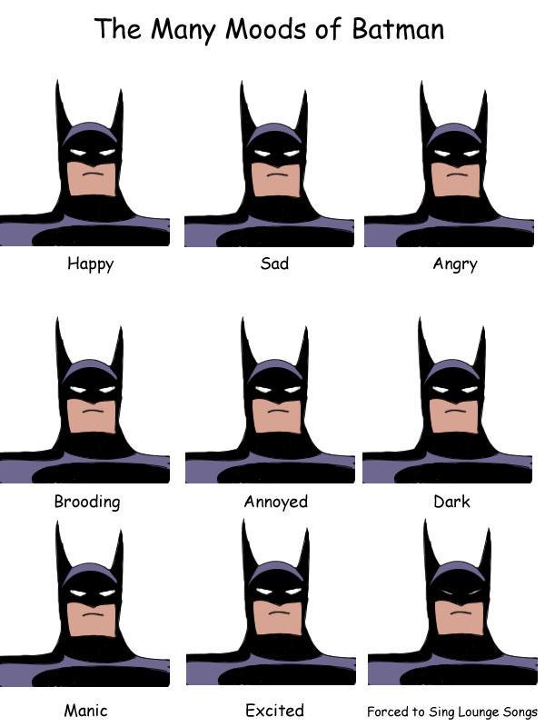 Many Moods of Bats by lannakitty