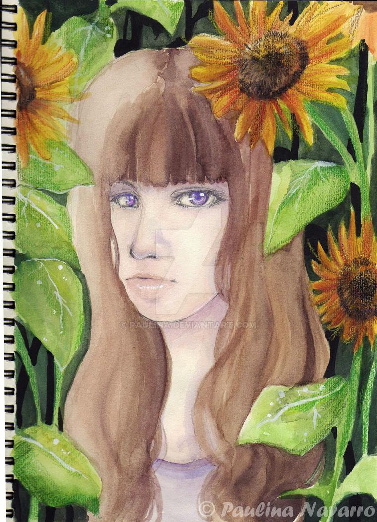 Sunflower by paulina