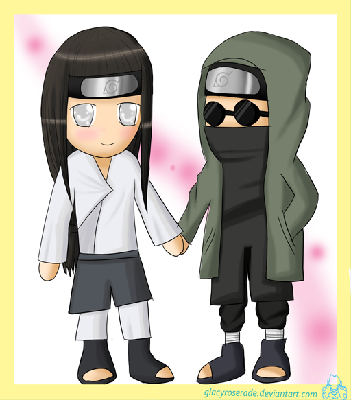 Request- Neji and Shino by GlacyRoserade