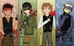 Counter strike - anime style by GlacyRoserade