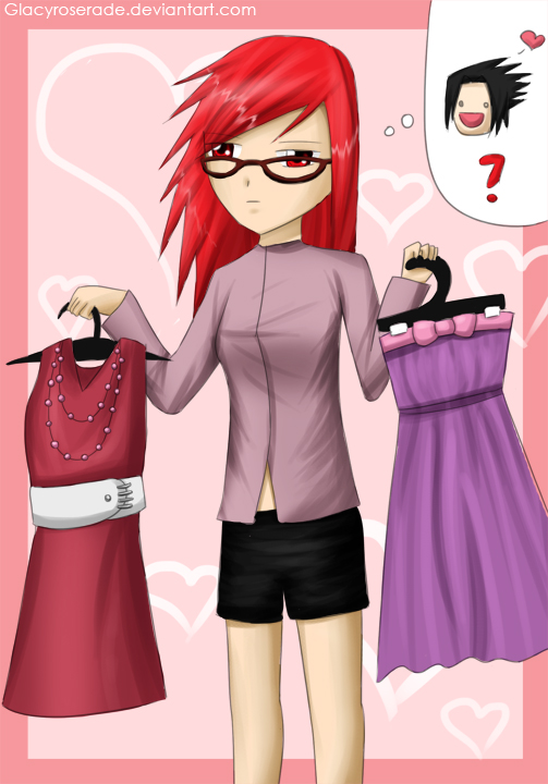 Contest-karin-what to wear? by GlacyRoserade