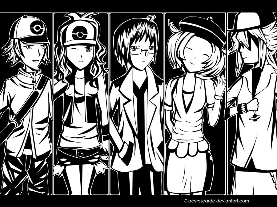 Pokemon - Black and White by GlacyRoserade