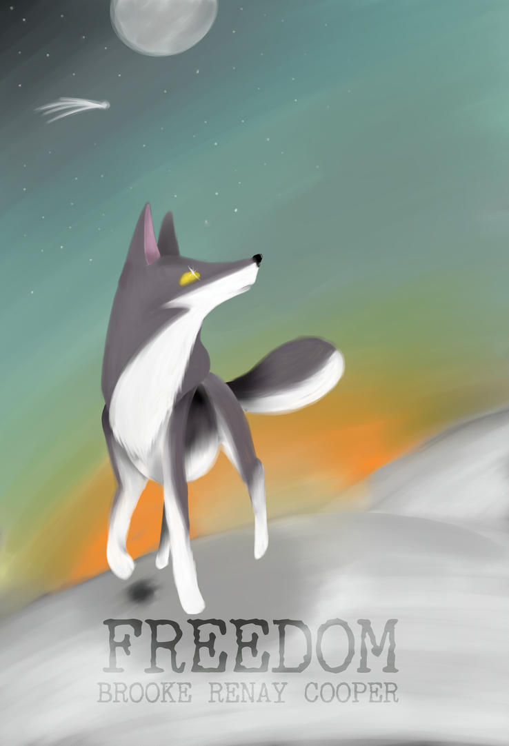 Final Cover: FREEDOM by ChuchipDraws