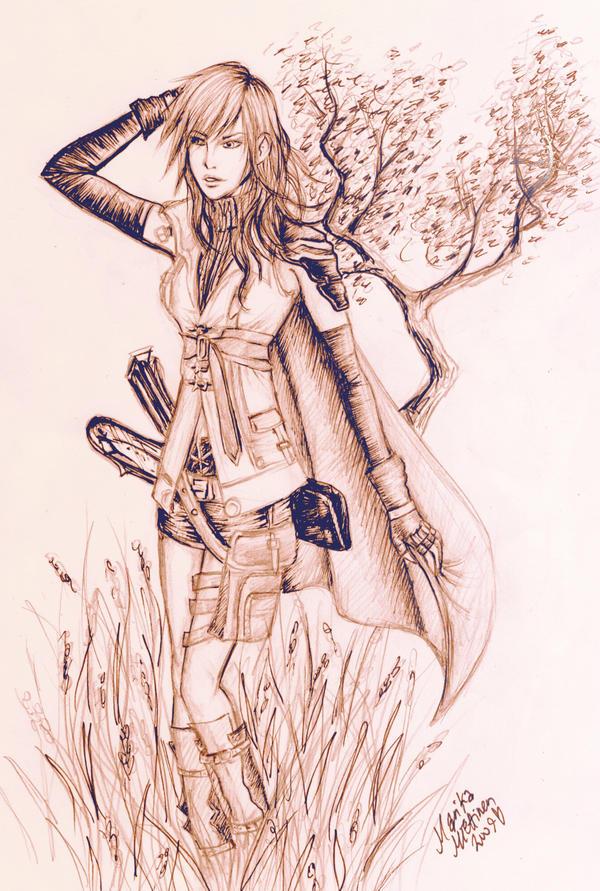 Sketch: Lightning by Mobicca