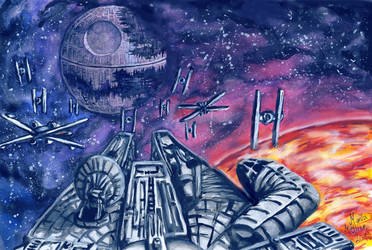 The Death Star by Mobicca