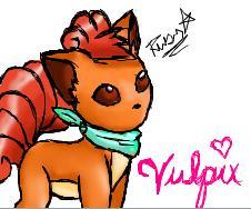 Vulpix. by RubyAvril