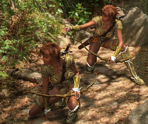 Huntress Twins
