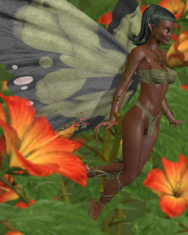 Nature Spirit by 3dcheapskate