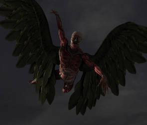 The Angel Of Death by 3dcheapskate