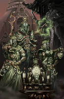 Death Lords of the orient 8: Ritualists by MoonshineDeluxe