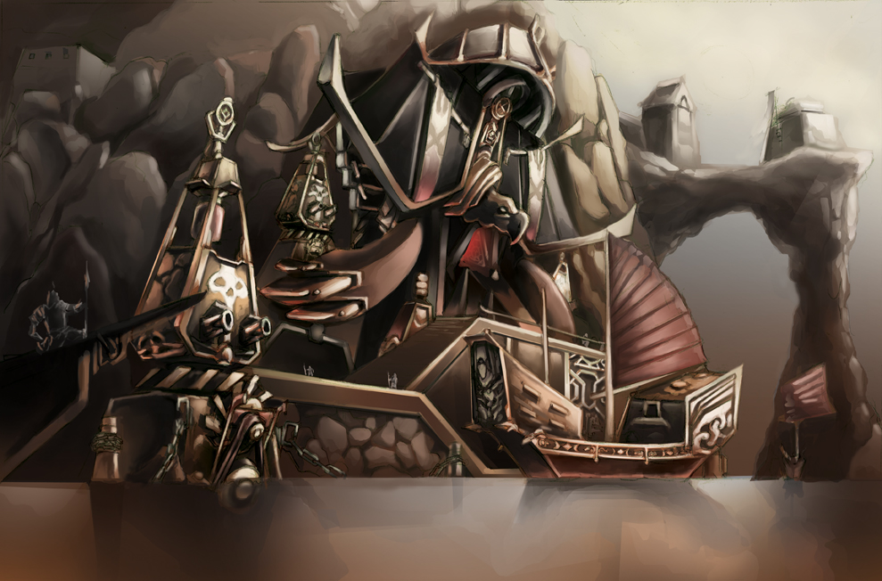 Death Lords of the orient10: Black Turtle Fortress by MoonshineDeluxe